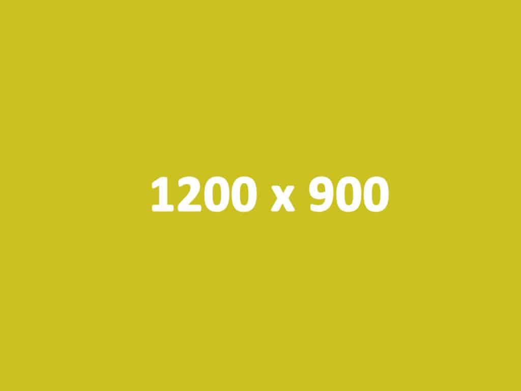 Wymiary grafik na Facebooku - 1200 x 900